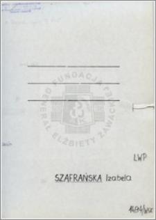 Szafrańska Izabela
