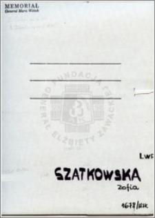 Szatkowska Zofia