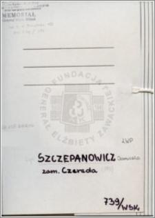 Szczepanowicz Domicela