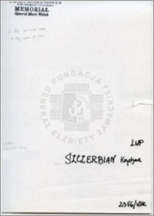 Szczerbian Krystyna
