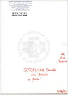 Szydelska Danuta