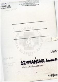Szymańska Leokadia