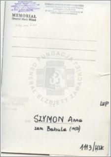 Szymon Anna