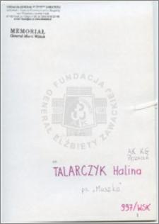 Talarczyk Halina
