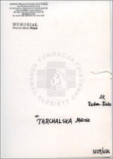 Tarchalska Maria
