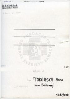 Tokarska Anna