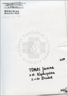 Tomas Janina