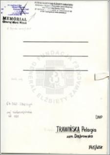 Trawińska Pelagia