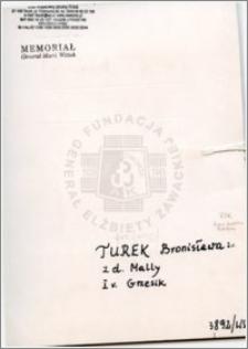 Turek Bronisława