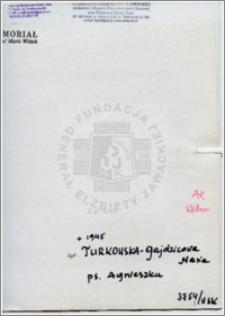 Turkowska-Gajdzicowa Maria