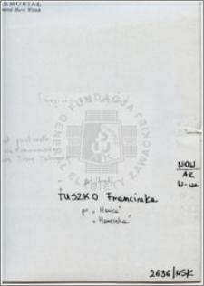 Tuszko Franciszka
