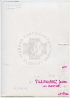Tuzinkiewicz Janina