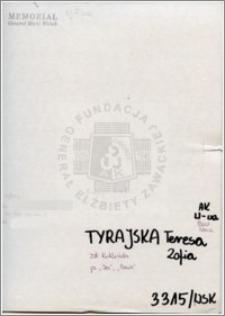 Tyrajska Teresa Zofia