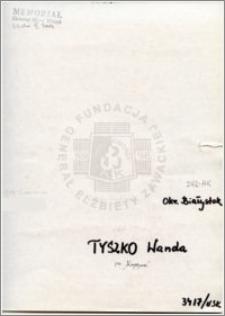Tyszko Wanda