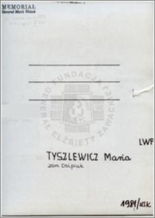 Tyszlewicz Maria