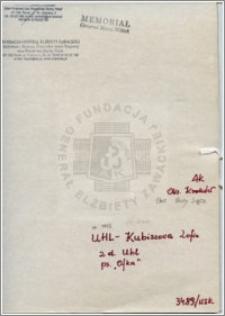 Uhl-Kubiszowa Zofia