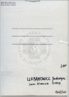 Urbanowicz Jadwiga