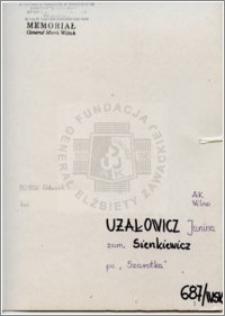 Użałowicz Janina