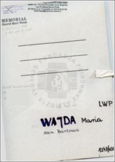 Wajda Maria
