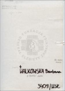 Walkowska Barbara