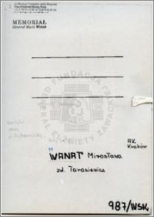 Wanat Mirosława