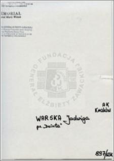 Warska Jadwiga