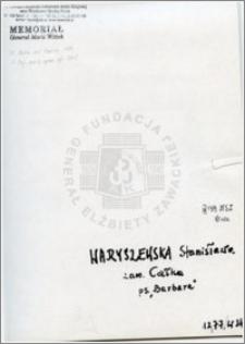Waryszewska Stanisława