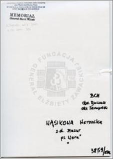 Wąsikowa Weronika