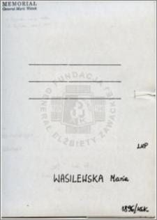 Wasilewska Maria