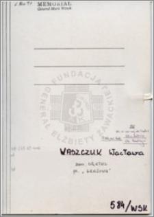Waszczuk Wacława