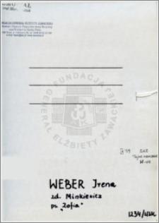 Weber Irena