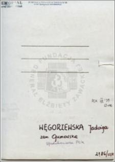 Węgorzewska Jadwiga