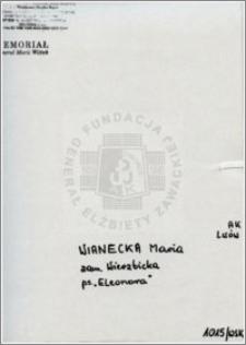 Wianecka Maria