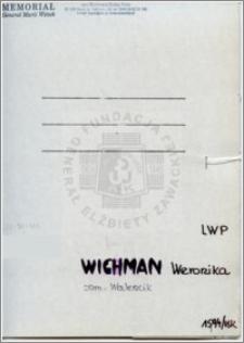 Wichman Weronika