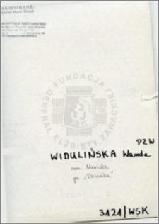 Widulińska Wanda