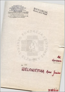 Wielowieyska Anna Janina