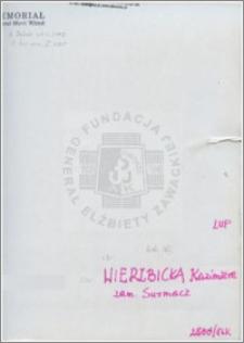 Wierzbicka Kazimiera