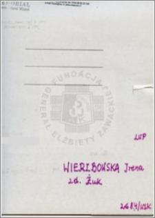 Wierzbowska Irena