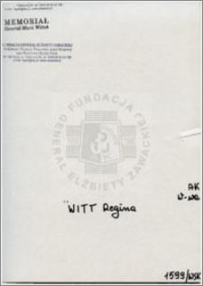 Witt Regina