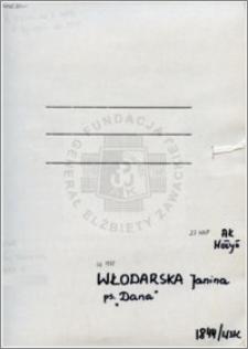 Włodarska Janina