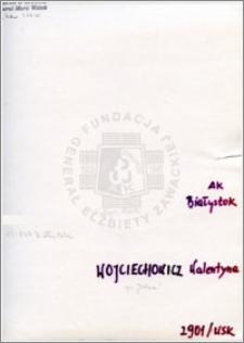 Wojciechowicz Walentyna