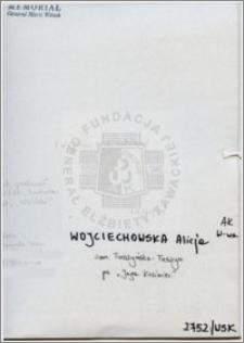 Wojciechowska Alicja