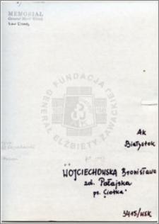 Wojciechowska Bronisława