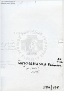 Wojciszewska Kazimiera