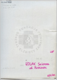 Wolak Salomea
