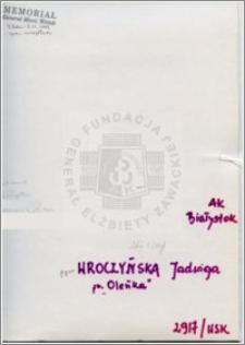Wroczyńska Jadwiga