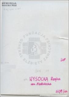 Wysocka Regina