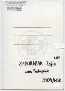 Zaborniak Zofia