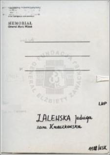 Zalewska Jadwiga