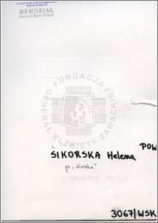 Sikorska Helena